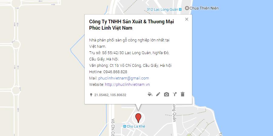 địa chỉ công ty