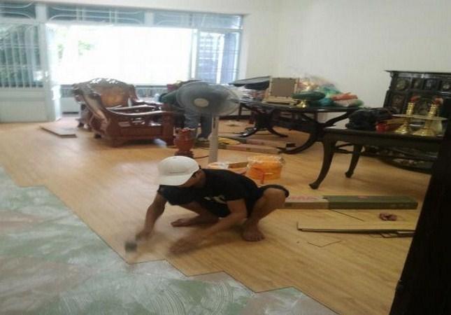 thi cong san nhua, sàn nhựa công nghiệp