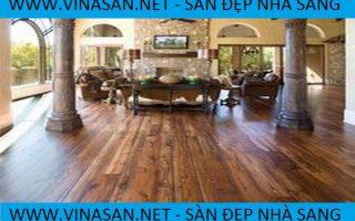 Sàn gỗ công nghiệp cao cấp – Ván sàn gỗ Vinasan