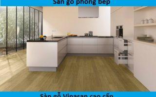 Sàn gỗ phòng bếp – Có nên lát sàn gỗ phòng bếp