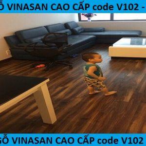 Sàn gỗ công nghiệp cho phòng khách, cách lựa chọn tông màu