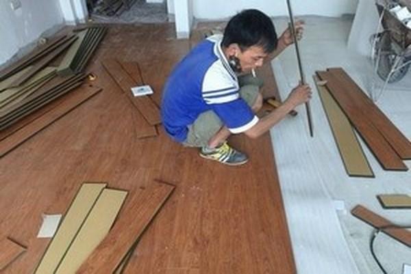 cach thi cong san go, thi công sàn gỗ