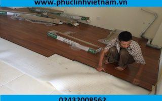 Khâu chuẩn bị mặt bằng trong quá trình lắp đặt sàn gỗ