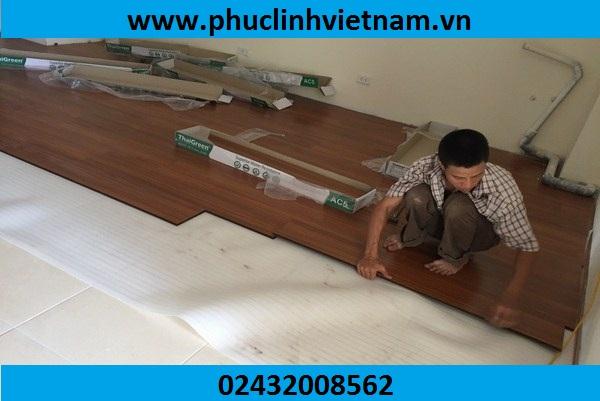 thi công sàn gỗ giá tốt