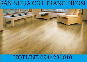 Kho sàn nhựa cốt trắng vân gỗ tại Hà Nội