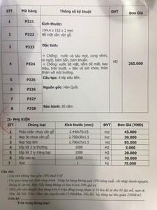 hình ảnh giá sàn nhựa pieosi, gia san nhua han quoc