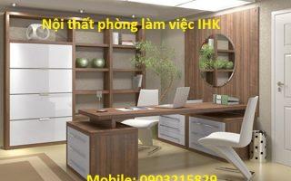 Thiết kế nội thất phòng khách IHK – Tư vấn thi công