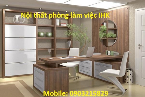 thiết kế phòng làm việc nội thất IHK