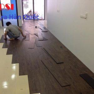 Báo giá thi công sàn gỗ công nghiệp, sàn nhựa vân gỗ