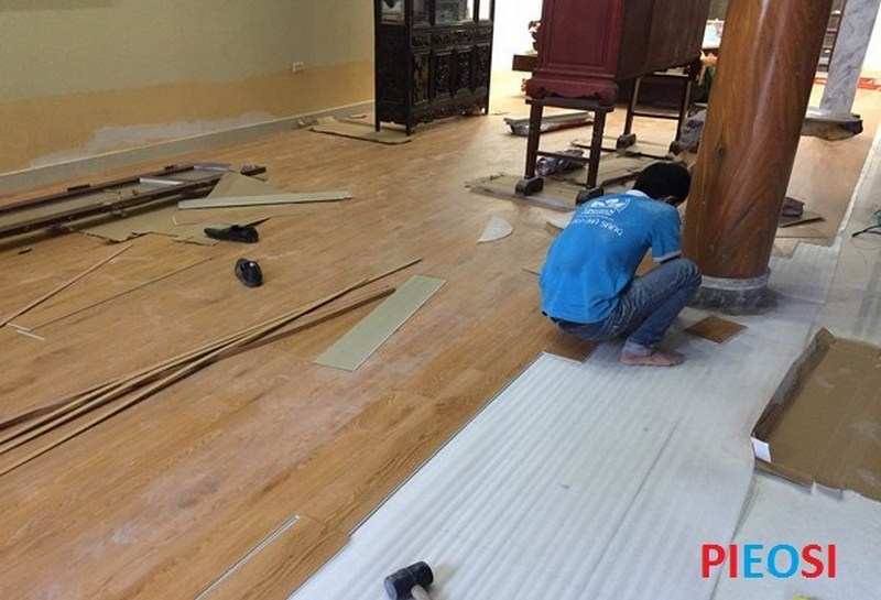 sàn nhựa spc vân gỗ, sàn nhựa hèm khóa PL