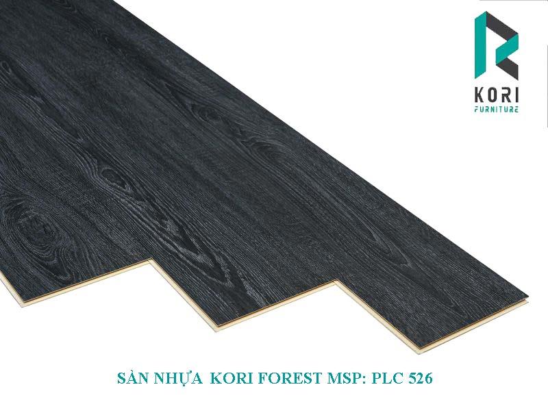 sàn nhựa hèm khóa koriforest plc 526