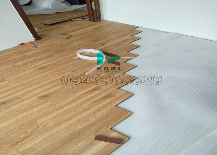 thi công sàn gỗ công nghiệp tại Cà Mau