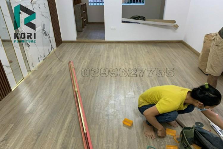 thi công sàn gỗ Hậu Giang