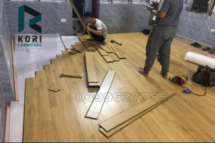 Thi công sàn gỗ tại Cam Ranh