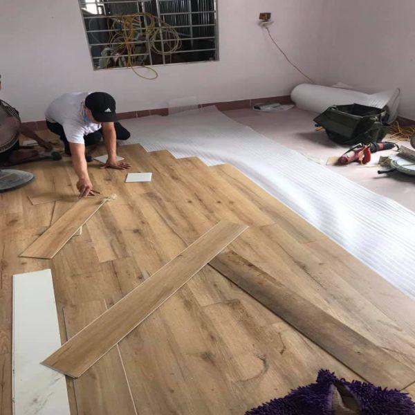Thi công sàn nhựa Bình Định