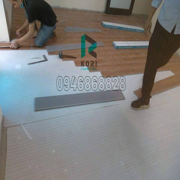 Thi công sàn nhựa hèm khóa Bình Thuận