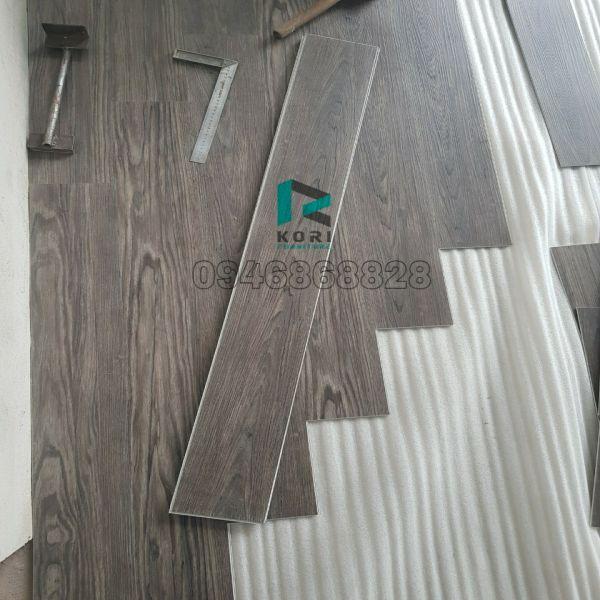 Thi công sàn nhựa giả gỗ Cần Thơ