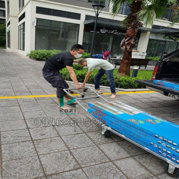 Vận chuyển sàn nhựa giả gỗ tại Đắk Nông